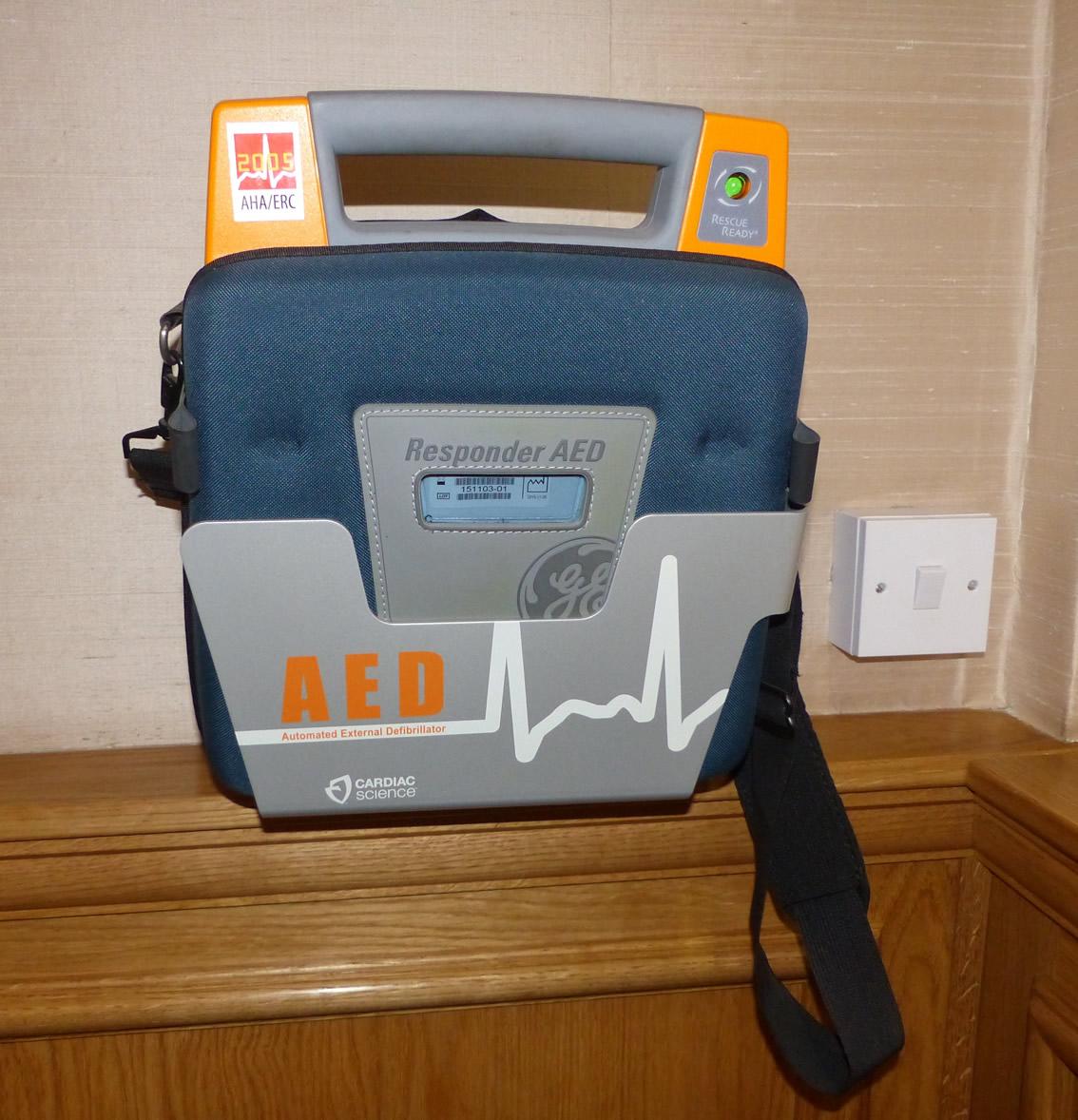 Parish Defibrillator